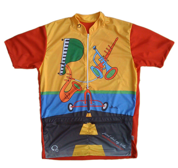 Recumbent Cycling Jersey has pockets you can stuff  f5c88698f